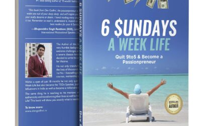 Live like a King by Reading 6 Sundays a Week Life- Dev Gadhvi